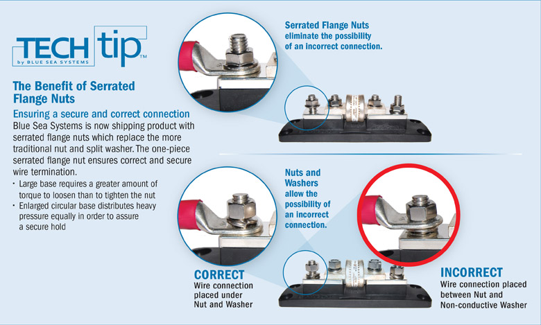 Infographic: The Benefit of Serrated Flange Nuts