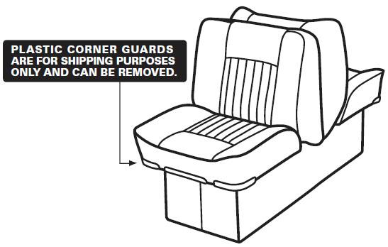 Back-to-Back Lounge Seat