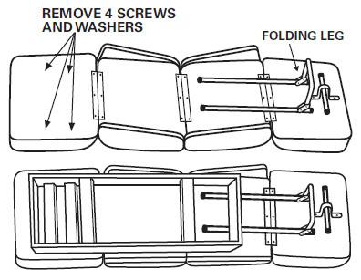 Back-to-Back Lounge Seat Assembly