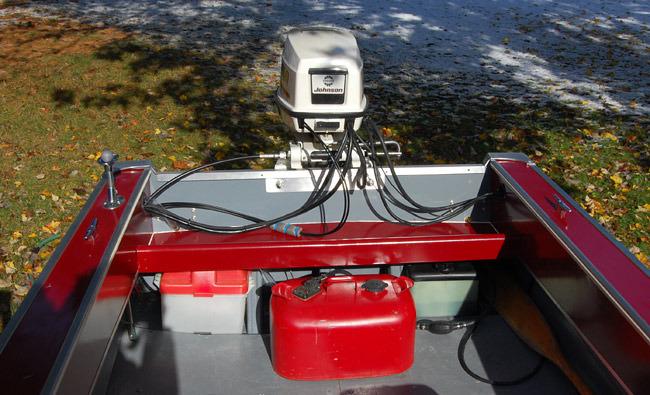 Boat Restoration Transom - After
