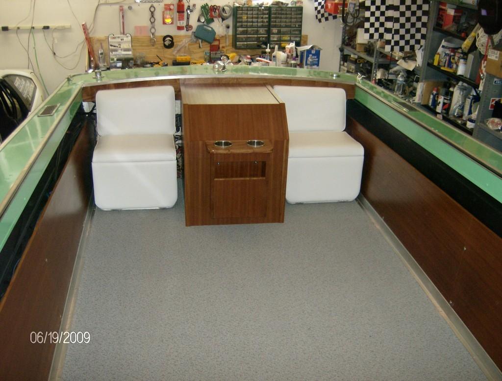 Boat Restoration - Transom