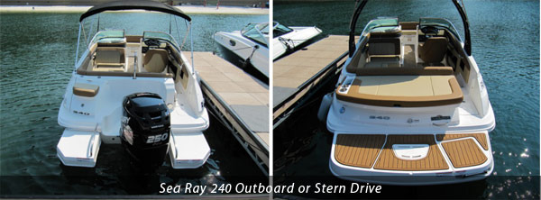 Outboard and Sterndrive Sea Ray 240