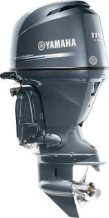 2017 Yamaha Complete Outboard, F115LB, 115HP, 4 Cylinder, New