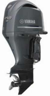 2017 Yamaha Complete Outboard, F250XCA, 250HP, New