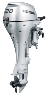 2017 Honda Complete Outboard, BF20D3SH, 20HP, 2 Cylinder, New