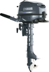 Yamaha Complete Outboard, F4SMHA, 4HP, 1 Cylinder, 139 CID, New