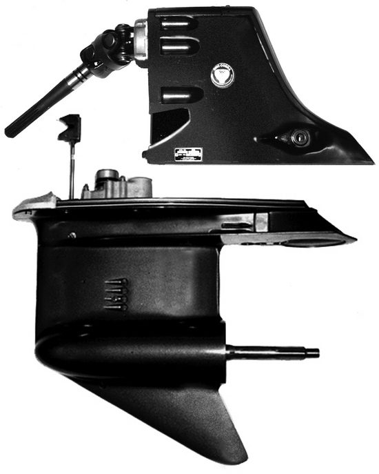 1986-1989 OMC Johnson and Evinrude Stern Drive Complete Drive Assembly, 4 Cylinder, 2.3 Liters, New